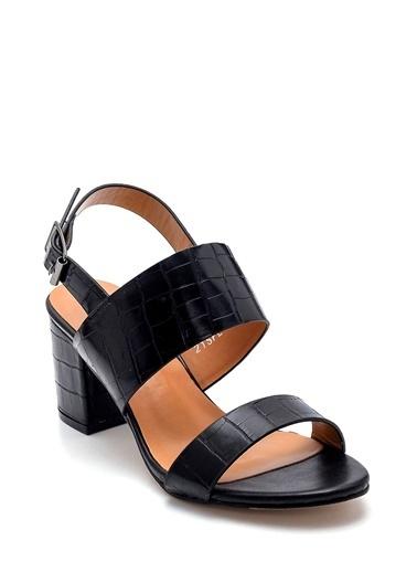 Derimod Kadın Sandalet (Zs3047-Y81) Casual Siyah